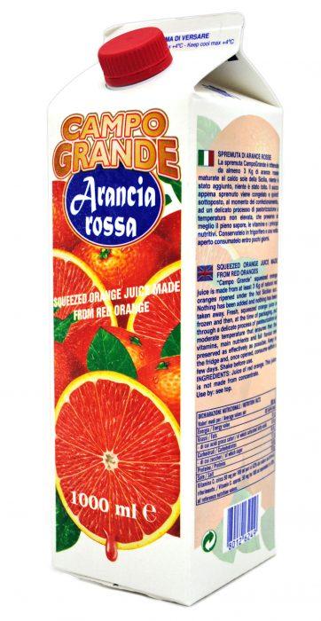 冷凍ブラッドオレンジジュース