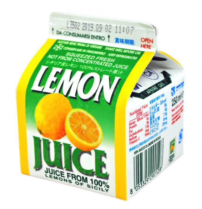 冷凍レモンジュース