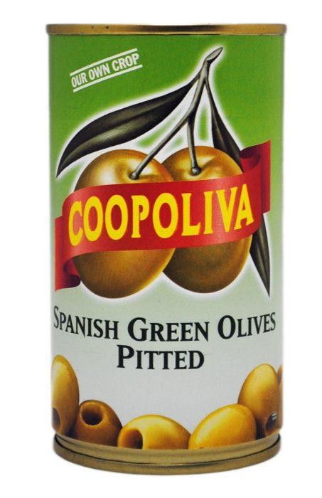 グリーンオリーブ缶(種なし)
