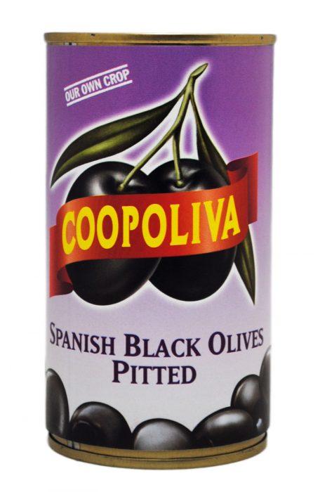 ブラックオリーブ缶(種なし)