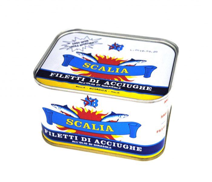 スカーリアさんのアンチョビフィレ 缶
