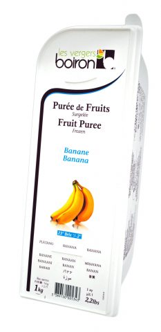 バナナ 冷凍ピューレ