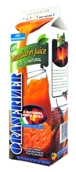冷凍マンダリンオレンジジュース