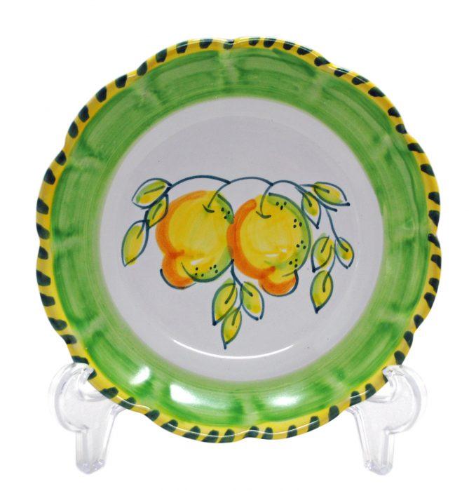 丸皿 レモン(21cmサイズ)